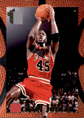 Michael Jordan, 1994-95 Topps Embossed Basketball NBA