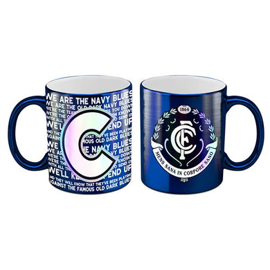 Carlton Blues Metallic Mug