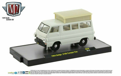 1964 Dodge A100 Camper Van, M2 Machines, 1:64 Diecast Vehicle