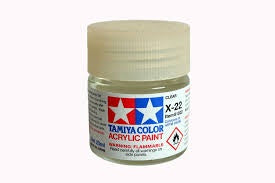 TAMIYA ACRYLIC MINI X-22 CLEAR 10ml