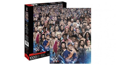 WWE Wrestling Cast 1000 Piece Jigsaw Puzzle by Aquarius
