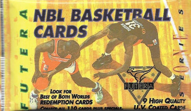 1994 Futera NBL Series 1 Basketball Pack