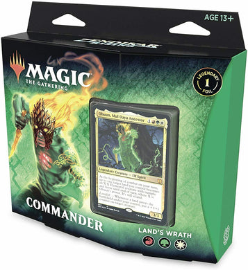 Land's Wrath - Magic the Gathering - Zendikar Rising Commander Deck