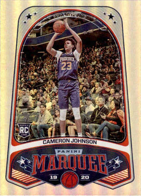 Cameron Johnson, RC, Marquee, 2019-20 Panini Chronicles NBA Basketball
