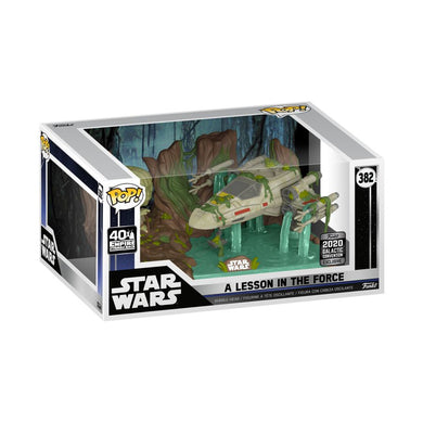 Star Wars - Yoda lifting X-Wing Star Wars Celebration US Exclusive Pop! Deluxe [RS]