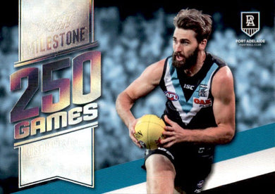 Justin Westhoff, 250 Games Milestone, 2020 Select AFL Footy Stars