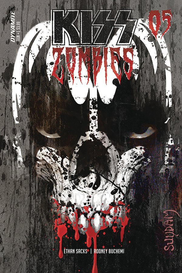 Kiss Zombies #5, Cover A Comic