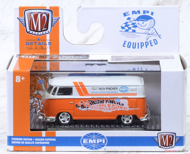 1960 VW Delivery Van USA Model, EMPI Equipped, M2 Machines, 1:64 Diecast Vehicle
