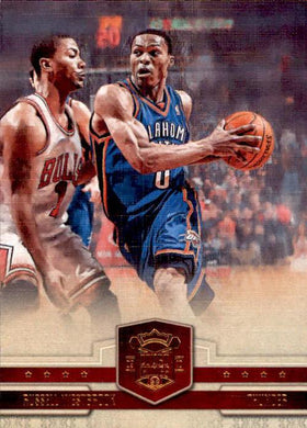 Russell Westbrook, 74/149, 2009-10 Panini Court Kings Basketball NBA