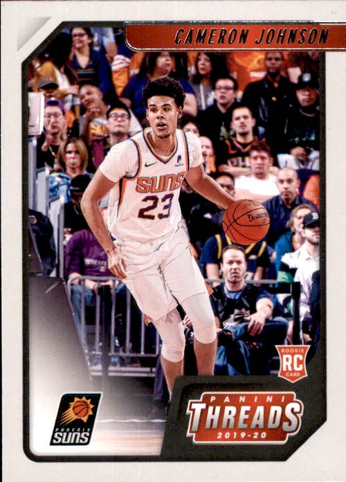 Cameron Johnson, RC, Threads, 2019-20 Panini Chronicles NBA Basketball