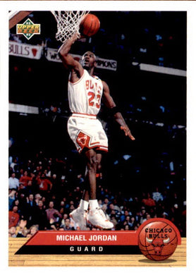 Michael Jordan, McDonalds, 1993 Upper Deck Basketball NBA
