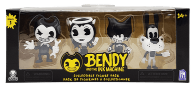BENDY AND THE INK MACHINE Collectible Figure 4-Pack