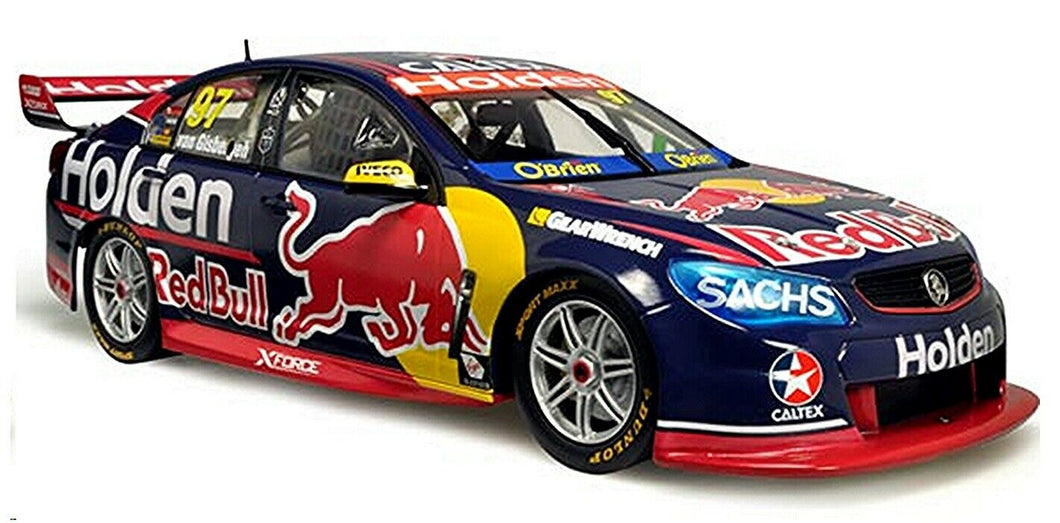 Classic Carlectables Van Gisbergens 2017 Red Bull Holden VF Commodore, 1:18 Scale Diecast Vehicle