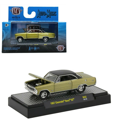 1967 Chevrolet Nova SS, Auto Meets, M2 Machines, 1:64 Diecast Vehicle