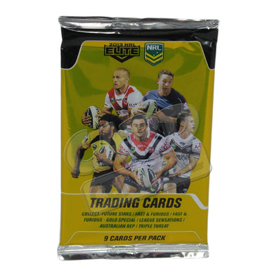 2013 esp Elite NRL Pack