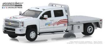 2018 Chevrolet Silverado 3500HD, USA-1, Dually Drivers, 1:64 Diecast Vehicle