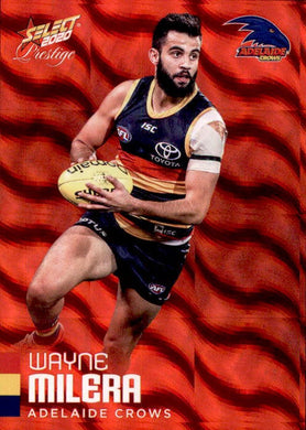 Wayne Milera, Red Parallel, 2020 Select AFL PRESTIGE Footy Stars