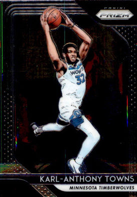 Karl-Anthony Towns, 2018-19 Panini Prizm Basketball NBA
