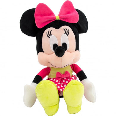 Disney I Love Minnie, Minnie Mouse with Dotty Twist Dress Plush Toy