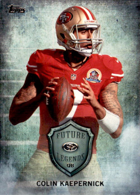 Colin Kaepernick, Future Legends, 2013 Topps Football NFL
