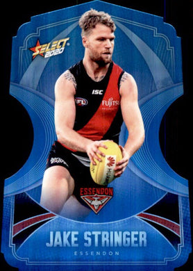 Jake Stringer, Ice Blue Diecuts, 2020 Select AFL Footy Stars