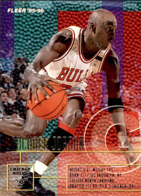 Michael Jordan, 1995-96 Fleer Basketball NBA