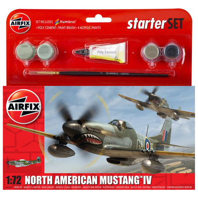 AIRFIX P-51D NORTH AMERICAN MUSTANG Model Kit