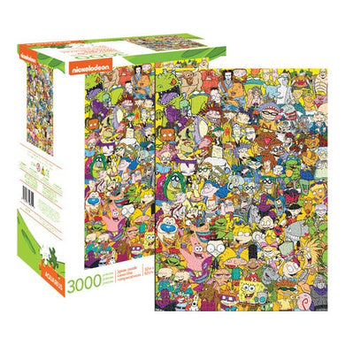 Nickelodeon Cast 3,000 Piece Jigsaw Puzzle by Aquarius