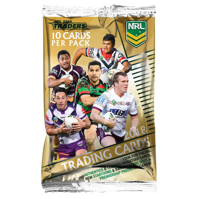 2018 NRL Traders Pack of cards