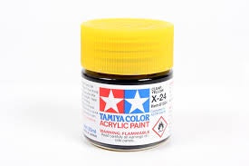 TAMIYA ACRYLIC MINI X-24 CLEAR YELLOW 10ml