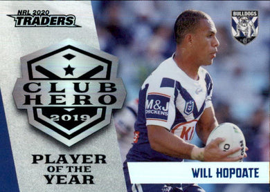 Will Hopoate, Club Hero, 2020 TLA Traders NRL
