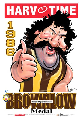 Robert DiPierdomenico, Brownlow Harv Time Poster