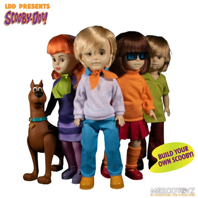 Living Dead Dolls - Scooby Doo 4 Figure Set