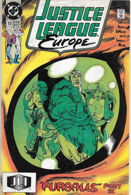Justice League Europe #13 Comic