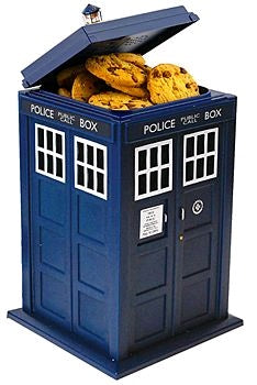Doctor Who - TARDIS Cookie Jar