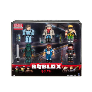 ROBLOX- 6 Figure Multipack- Q-Clash WAVE 7