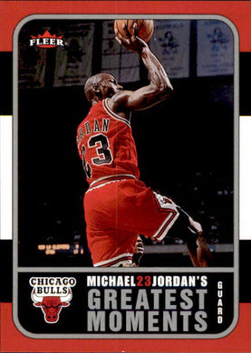 Michael Jordan, Greatest Moments, MJ9, 2006-07 Fleer Basketball NBA