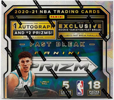 2020-21 Panini Prizm Fast Break Basketball NBA Box