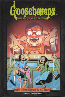 Goosebumps, Monsters at Midnight, Hardcover Comic Book.