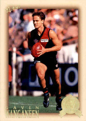 Gavin Wanganeen, HFLE208, Hall of Fame Series 4, Red Back, 2012 Select Eternity AFL