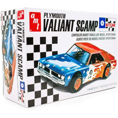 Plymouth Valiant Scamp, 1:25 Scale Plastic Model Kit