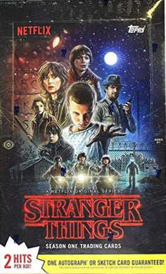 Netflix Stranger Things Season 1 Sealed Box of cards