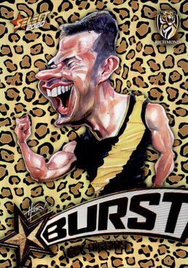 Jack Higgins, Leopard Starburst, 2020 Select AFL Footy Stars