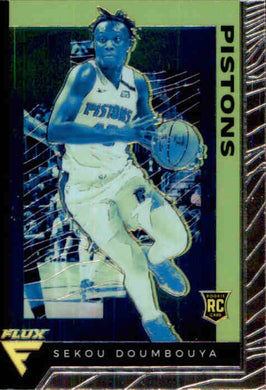 Sekou Doumbouya, RC, Flux, 2019-20 Panini Chronicles NBA Basketball