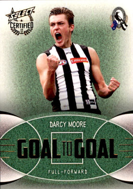 Darcy Moore, Goal to Goal, 2017 Select AFL Certified