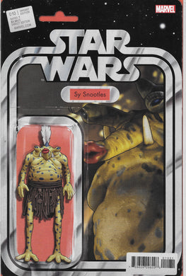 Star Wars #10 Comic (2020) Carded Sy Snootles Variant