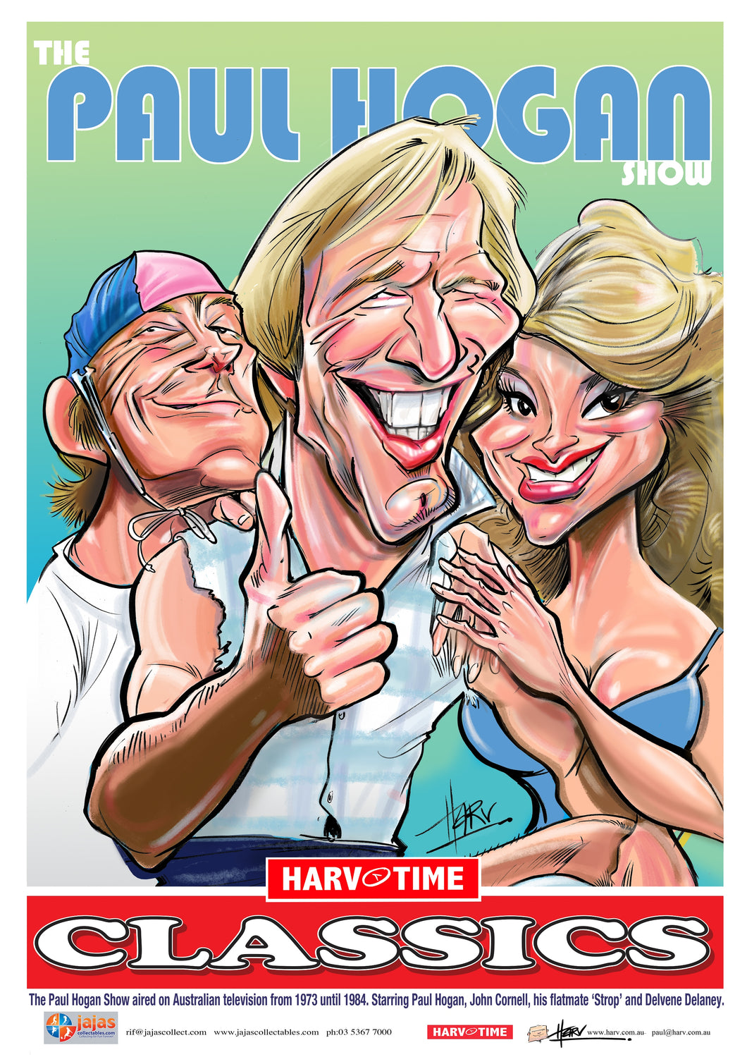 The Paul Hogan Show, Harv Time Poster