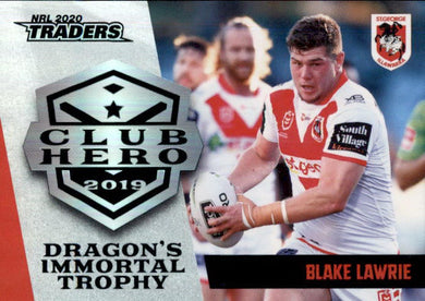 Blake Lawrie, Club Hero, 2020 TLA Traders NRL