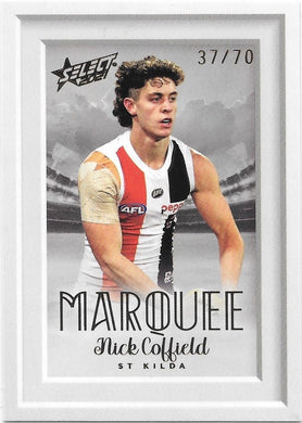 Nick Coffield, Marquee, 2021 Select  AFL Footy Stars