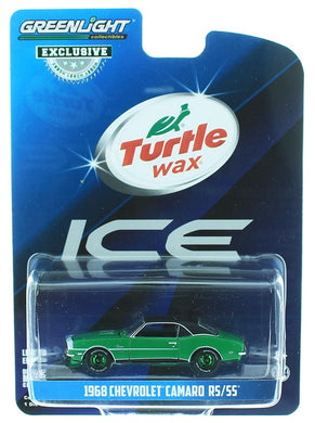 1968 Chevrolet Camaro RS/SS, Turtle Wax Ice, 1:64 Diecast Vehicle
